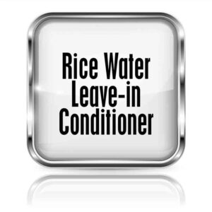 Rice Water Leave-In Conditioner 8oz.