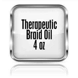 Therapeutic Braid Oil 4oz.