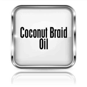 Coconut Braid Oil 4oz.